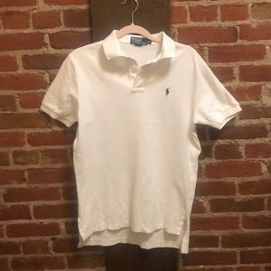 White Polo by Ralph Lauren polo shirt